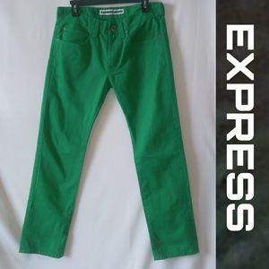 Express Jeans Slim Fit; Size 30x30